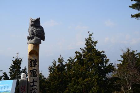 今日も富士は見えなかった、、、