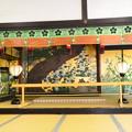 Photos: 松に立葵図