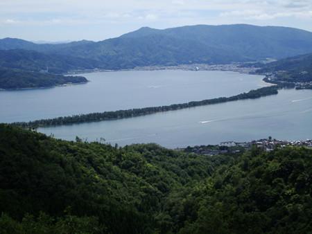 弁天山展望台から見た天橋立