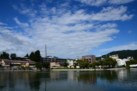 晩夏の夷川ダム