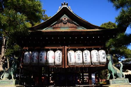 満足稲荷神社拝殿