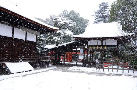 雪の下鴨神社