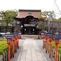 写真: 春を待つ六孫王神社