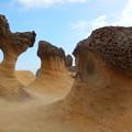 写真: 野柳地質公園