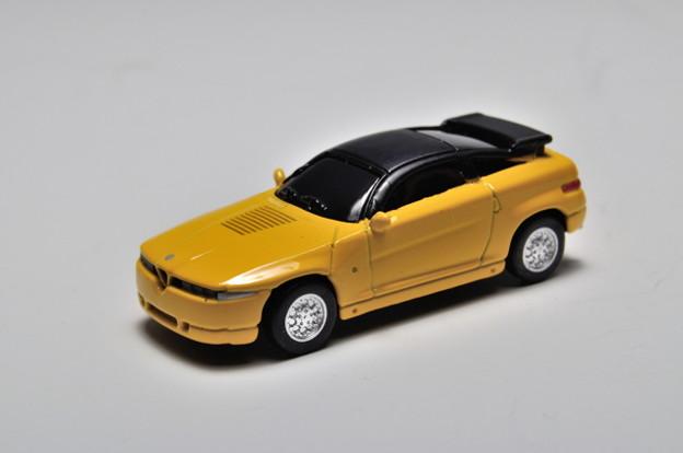 ジョージア-京商_ジョージアオリジナル ヨーロッパ名車シリーズ アルファ ロメオ x 京商歴代名車コレクション Alfa Romeo SZ(1989)_001