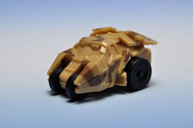 サントリーボス_バットマン ビークルコレクション プルバックカー 4th BATMOBILE Production model_001