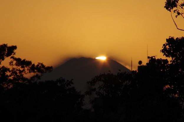 Photos: まもなく沈む夕日