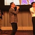 Photos: 貴重な後藤先生の歌う姿