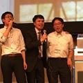 Photos: 神谷先生もゴキゲンモード