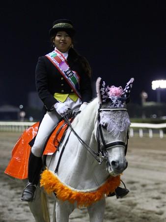 川崎競馬の誘導馬04月開催 川崎ジョッキーズC-120409-05