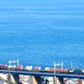 Photos: EF64電機が牽引する貨物列車