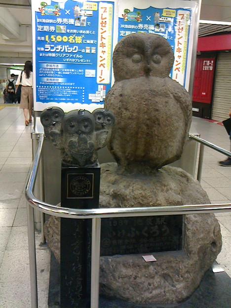 Photos: 池ふくろう  #池袋駅