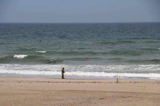 サーファーたちが集まる有名ビーチ