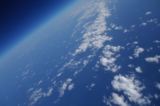 Photos: 地球は青かったにゃ~