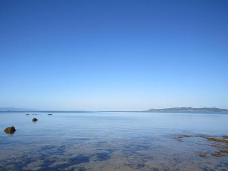 きょうの名蔵湾