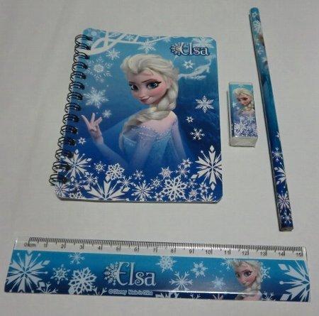 アナと雪の女王 4点メモ帳セット