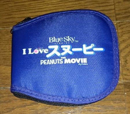 映画『I LOVE スヌーピー THE PEANUTS MOVIE』コンパクト トートバッグ