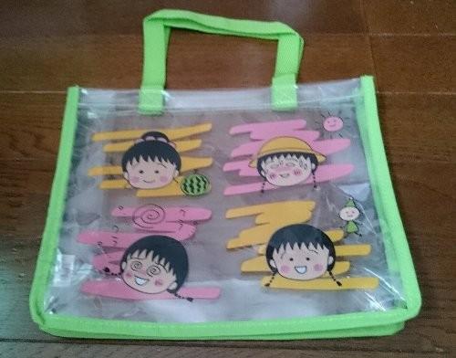 Photos: さくらももこオリジナルデザイン 夏のおでかけクリアバッグ