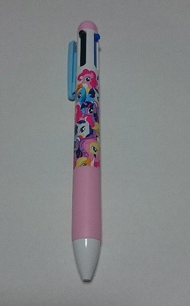 Photos: マイリトルポニー×サンキューマート 3色ボールペン+シャープペン