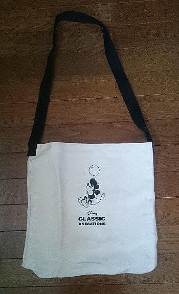 Disney Classic Animations キャンバスBIGショルダーバッグ