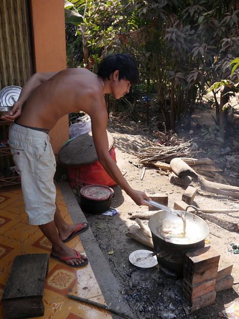 Photos: クッキング2015.02.07カンボジア