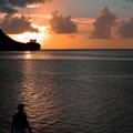 GUAM - Sunset from Tumon Bay -