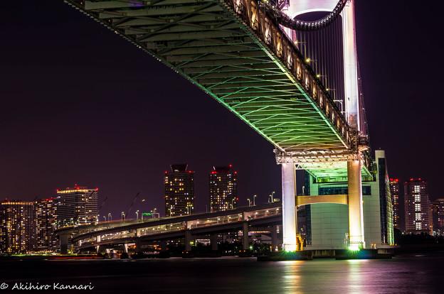 写真: レインボーブリッジ(Rainbow Bridge)
