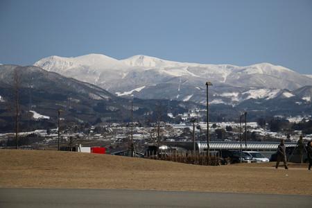 蔵王山 2015年3月末
