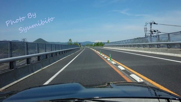 山形高速~月山(スマホにて)