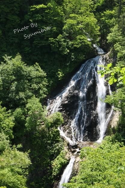 田麦俣 七つ滝 (山形県鶴岡市)