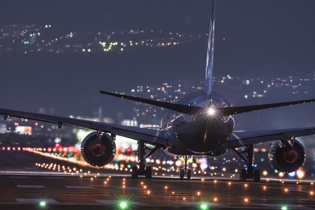 写真: 鮮やかな夜