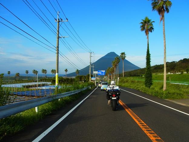 鹿児島 指宿から開聞岳方面へ
