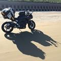 日本で唯一砂浜を道路にできる千里浜なぎさドライブウェー