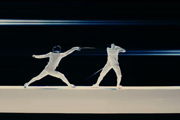 Photos: 【動画】フェンシングの人は誰?FLOW「INNOSENSE」MVに出演する謎の2人が判明!