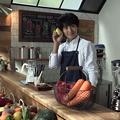 Photos: 山崎賢人「ザテレビジョン」最新表紙のポーズはコレ?「野菜スムージー」CMメイキングが公開された!