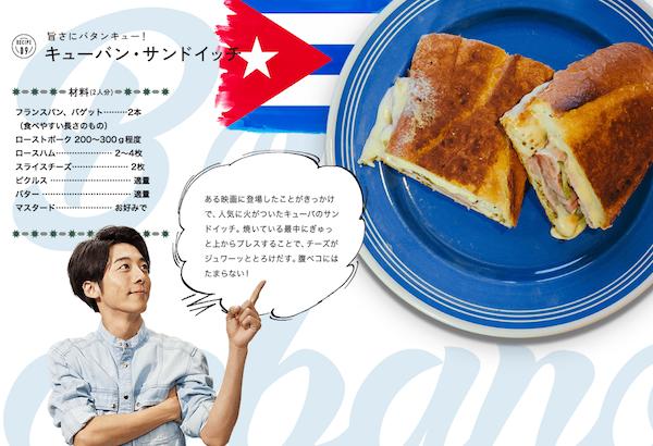 キューバの「キューバン・サンドイッチ」