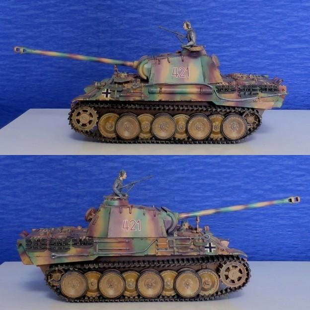 10 パンサー(ドイツ中戦車 1;35  tamiya '16.10.
