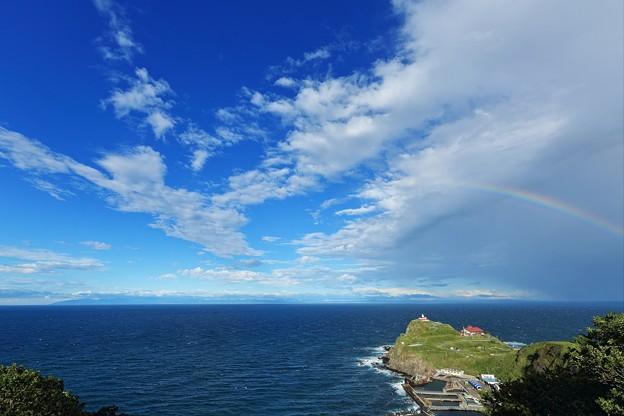 道北からの虹空。。。