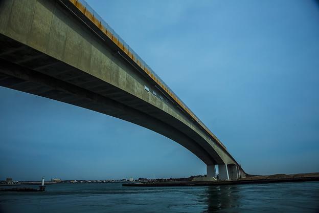 遠州灘 浜名大橋