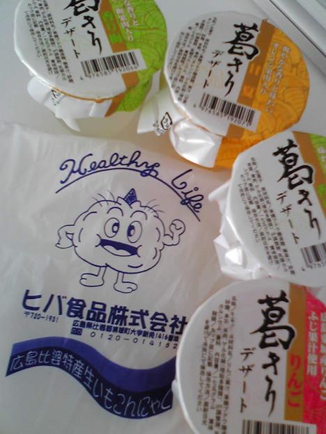ヒバ食品「葛きりデザート」