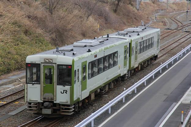 Photos: キハ100形キハ100-8 普通気仙沼行き