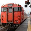 キハ40形2000番台キハ40-2034 普通長門市行き