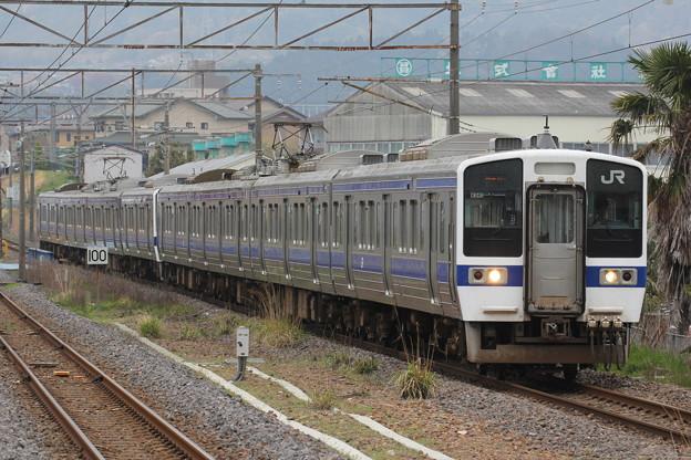 415系1500番台カツK541編成 普通久ノ浜行き