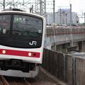 205系ケヨ11編成 快速東京行き