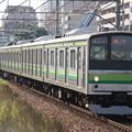 Photos: 205系クラH18編成 各駅停車磯子行き