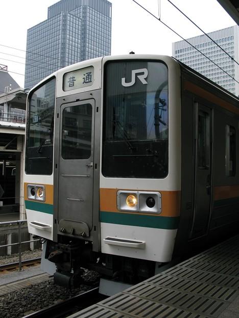 Photos: 211系チタN2編成 普通伊東行き