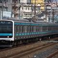 Photos: 209系ウラ55編成 各駅停車磯子行き