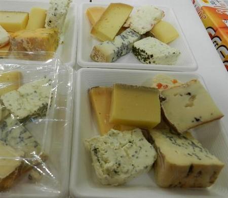 チーズの詰め合わせ−札幌