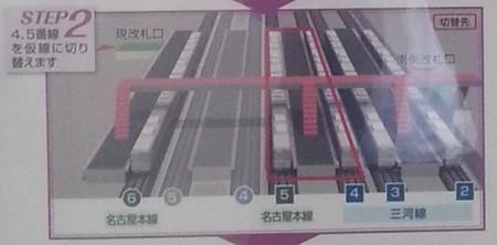 知立駅高架化工事第2段階