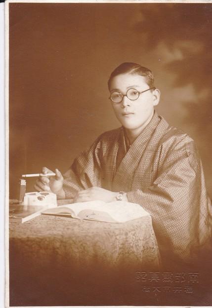 写真: 昔の父親